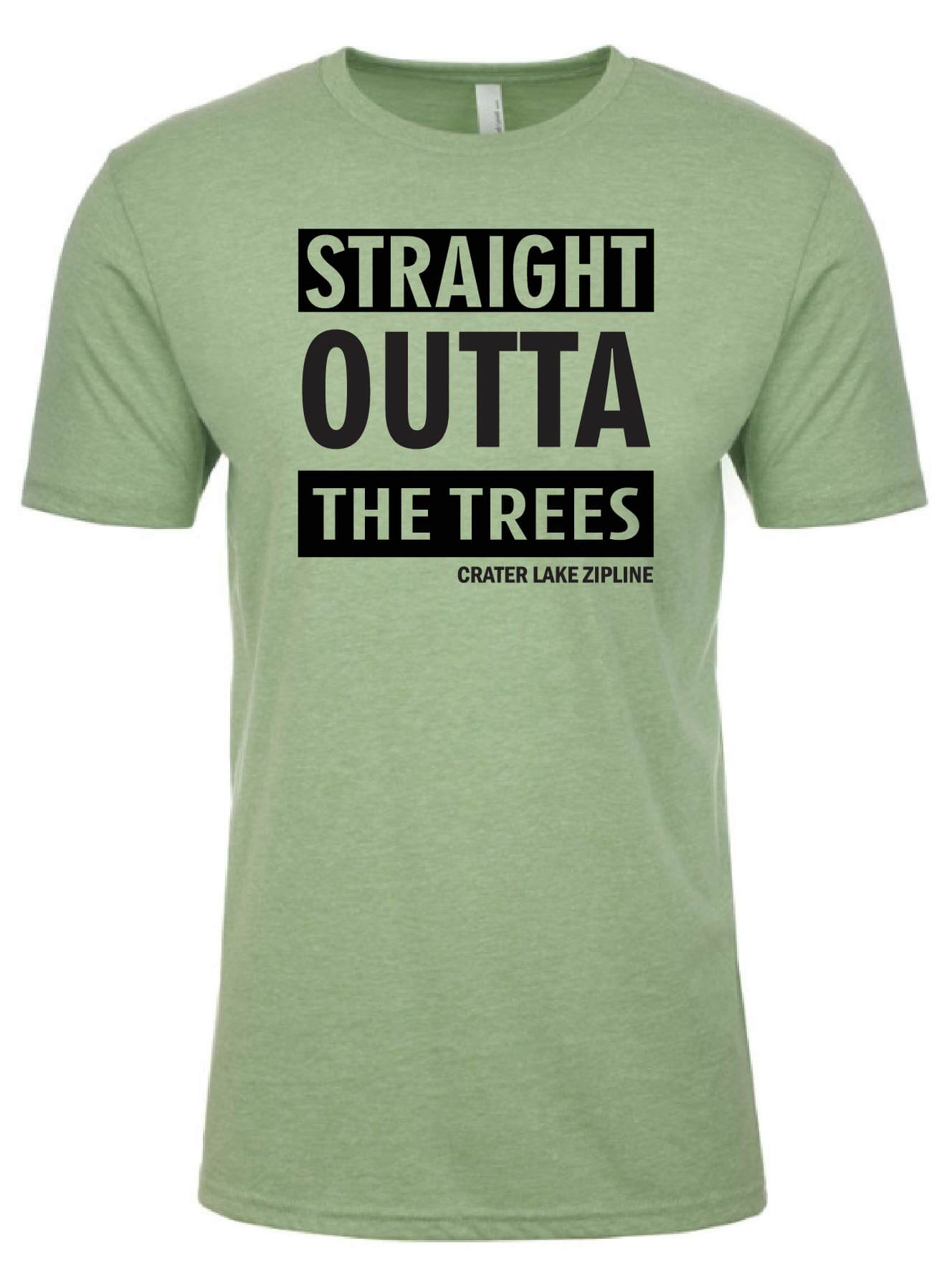 Straight Outta the Trees Crewneck Tee